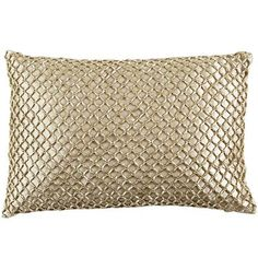 Metallic Beads Pillow