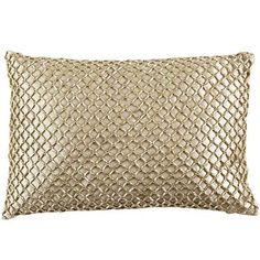 Metallic Beads Pillow