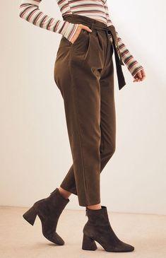 fc3efaf9a0b50 Paperbag Twill Pants Twill Pants