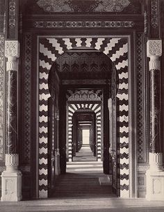 Cairo. Mameluke House. Photograph taken 1800s