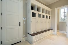 22 Incredible Mudroom Ideas with Storage Lockers & Benches