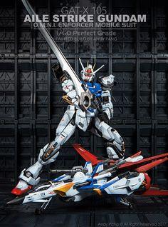 Custom Build: PG 1/60 Aile Strike Gundam - Gundam Kits Collection News and Reviews