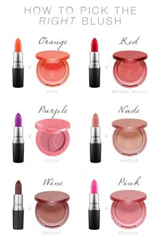 Blush is a necessity when you wear a bold lip. From Too Faced to Tarte blush, The Mom Edit has got the perfect cheek and lip combos. Blush Makeup, Makeup Dupes, Beauty Makeup, Eye Makeup, Makeup 101, Makeup Hacks, Lipstick Colors, Red Lipsticks, Lip Colors