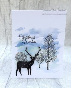 Mikey's Mom: Watercolour Christmas Cards – New Year Cas Christmas Cards, Chrismas Cards, Stamped Christmas Cards, Watercolor Christmas Cards, Christmas Card Crafts, Homemade Christmas Cards, Watercolor Cards, Handmade Christmas, Christmas Cactus