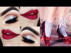 Makeup Tutorial Pin Up - Maquiagem inspirada em Dorothy do Mágico de Oz - YouTube