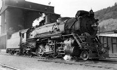 Erie Railroad 4-6-2 Class K5 Locomotive.