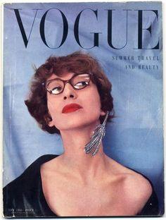 British Vogue May 1950 Paris Drama, Spain by Salvador Dali, Norman Parkinson Vintage high fashion magazine | Hprints.com
