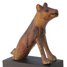 Dog Folk Sculpture