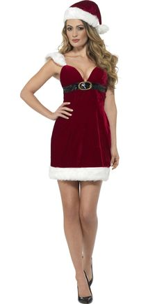 0349d503fe78 Gorgeous Miss Santa costume! Xmas Costumes, Santa Costume, Christmas Fancy  Dress, Santa