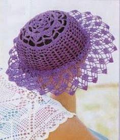 O Verão promete muito Sol... Nada mais chique, do que você sair com um lindo Chapéu, feito por você mesma! Trago alguns modelos, o qu...