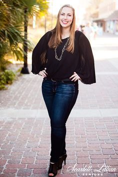 KATIE | JACKSONVILLE BEACH SENIOR PICS | Jacksonville Senior Photographer // Scarlett Lillian Seniors