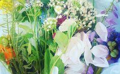 bring blomster ud