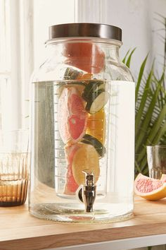 Fruit Infusing Drink Dispenser (1.5 gallon) $40 Urban Outfitters