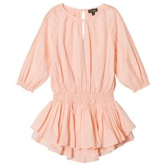 Velveteen Pink Alyssa Playsuit with Gold Lurex Detail