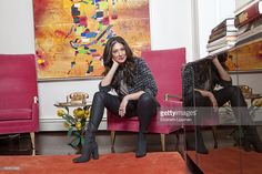 Fashion stylist and TV host, Stacy London is photographed for New York Times on November 8, 2012 in New York City. PUBLISHED