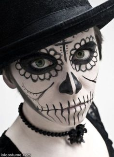 costume face paint