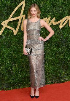 Karlie Kloss aux British Fashion Awards 2015