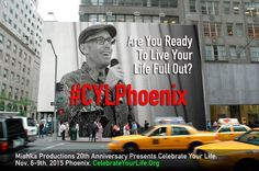 Are you ready to celebrate life with @AndyDooley? We sure are! #CYLPhoenix
