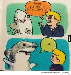 niepoważny rekin