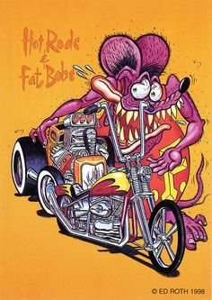 rat fink ed big daddy roth hot rods and fat bobs by brocklyncheese, via Flickr