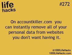 Some more life hacks