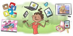 Hoe gebruiken jullie (sociale) media in jullie gezin? Verslaafd aan dat mobieltje, of juist niet? Speel deze quiz samen met je kind en ga daarna in gesprek.