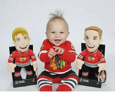 This #Blackhawks baby is ready for the season to begin!