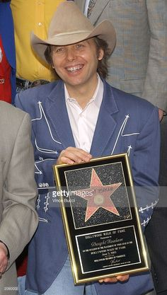 Musician/actor Dwight Yoakam attends a ceremony honoring Yoakam with a star on the Hollywood Walk of Fame June 5, 2003 in Hollywood, California.