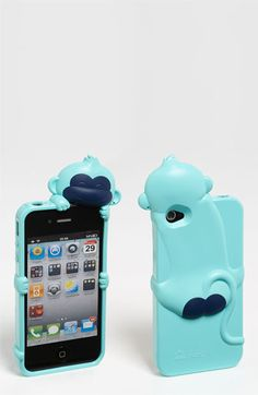 Ahhhh this is fun! So many possibilities....Shine 32 'Kiki Monkey' iPhone 4 & 4S Case
