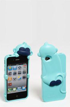Ahhhh this is fun! So many possibilities....Shine 32 'Kiki Monkey' iPhone 4 & 4S Case