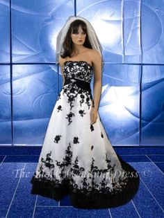 Black Wedding Dress 2022