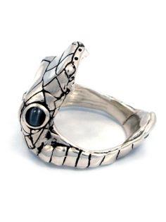 """""""Venom"""" Ring by Han Cholo (Silver Tone)"""