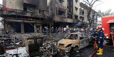 Au moins 119 morts dans un attentat revendiqué par Daech à Bagdad - 3 juillet 16