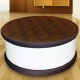 Ice Cream Cookie Ottoman how awesome! I will so have one one day!