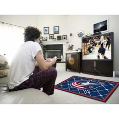 NHL - Columbus Blue Jackets 4x6 Rug  Sports Licensing Solutions LLC has selling nhl - columbus blue jackets 4x6 rug product with good quality at best price. Sports Licensing Solutions LLC nhl - columbus blue jackets 4x6 rug has one of the most popular and high rank product under home & kitchen category. Many customers purchased Sports Licensing Solutions LLC nhl - columbus blue jackets 4x6 rug product and we received positive feedback from most of our customers.