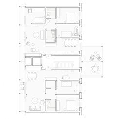 Wohnsiedlung Waidmatt, Zürich – Jürgensen Klement Architekten, ETH TH SIA – yemek Cultural Architecture, Modern Residential Architecture, Romanesque Architecture, Education Architecture, Classic Architecture, Architecture Plan, Zurich, Floor Plan Layout, Floor Plans