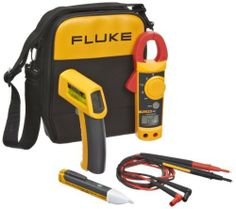 Fluke 62/322/1AC II IR Thermometer, Clamp Meter and Voltage Detector Kit by Fluke. $213.36. 3 piece kit. Kit included: Infrared thermometer; AC II VoltAlert voltage detector; clamp meter.