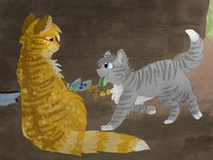 Mothwing and Willowpaw by CascadingSerenity on deviantART