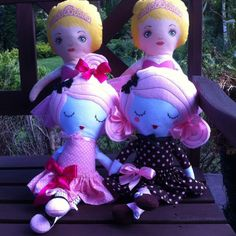Wait a minute! There is more, East End Girls are coming up!   #fabricdoll #ragdoll #dolls #handmade  #cuddletoy #dolls