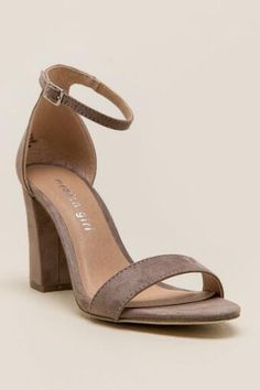 21d42f042ac Madden Girl - Beella Ankle Strap Block Heel Block Heels Outfit