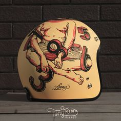 Helmets Painting Collection on Behance
