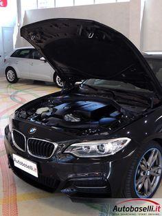 BMW M 235 I AUTOMATICA 326 CV Steptronic + Navigatore + Interno in pelle + Fari Bi-xeno + Keyless'go + Bluetooth + Cruise control + Sedili sportivi + Comandi vocali + Cerchi in lega 18 + Park distance control ant/post + Garanzia Bmw + del 2015
