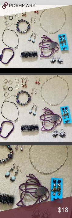Jewelry lot! Must go! Handmade and used jewelry lot. Wholesale, used, etc. clearance. Must sell to buy new supplies!! Jewelry
