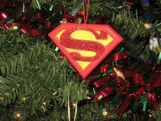 Quilted Ornament - Superman - Handmade Fabric Ornament. $15.00 ...