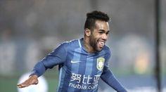 Inter Milan will look to loan Jiangsu Suning star Alex Teixeira