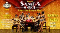 """""""O Brasil inteiro de uma cidade só!""""  Amanhã, a partir das 20:00 - SAMPA O MUSICAL!  Não perca a oportunidade de conhecer a casa mais paulistana de São Paulo."""