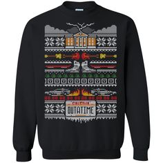 A Stitch In Time Holiday Ugly Christmas Sweater