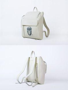 Backpack Leather Backpack for Men or Women Backpack by KiliDesig