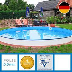 Hochwertige Rundbecken Made in Germany in der Größe 3,00 x 1,20m. Beste Qualität finden Sie auf poolsana.de.