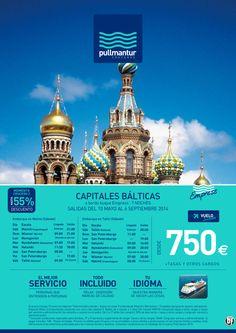 Crucero Capitales Bálticas - Pullmantur - Todo Incluido - Con avión - Desde 750€ ultimo minuto - http://zocotours.com/crucero-capitales-balticas-pullmantur-todo-incluido-con-avion-desde-750e-ultimo-minuto/